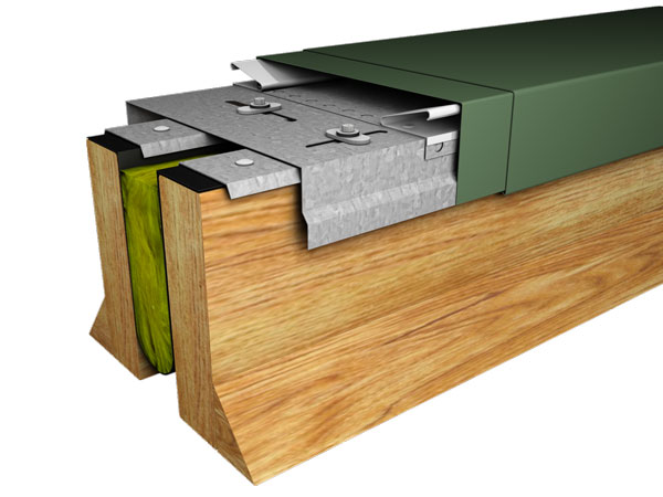 Perma-Tite Expansion Joint, Roof to Roof
