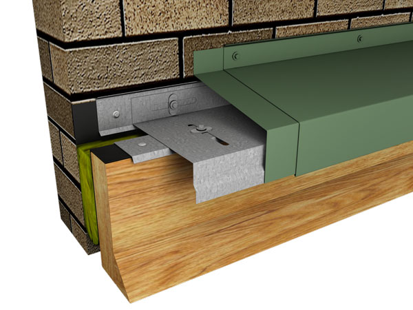 Perma-Tite Expansion Joint, Roof to Wall