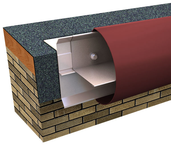 Creative Design Bullnose Fascia Built-Up or Modified