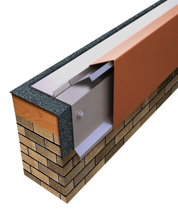 One Edge Fascia Built-up or Modified