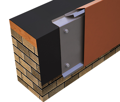 One Edge Extended Fascia Single-Ply